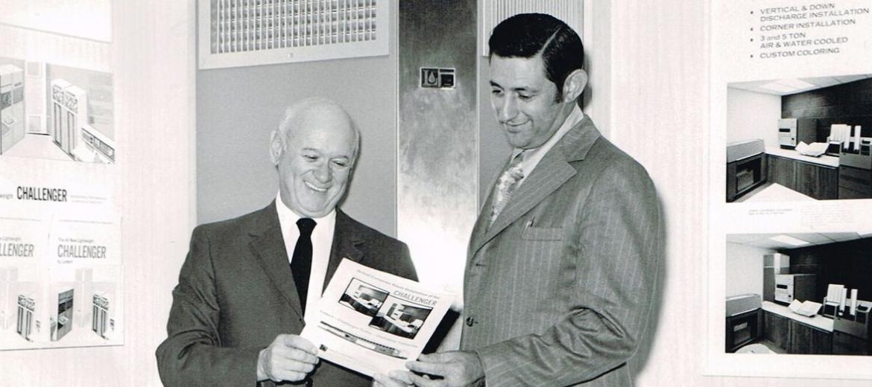 Al Izzo and Ralph Liebert 1972
