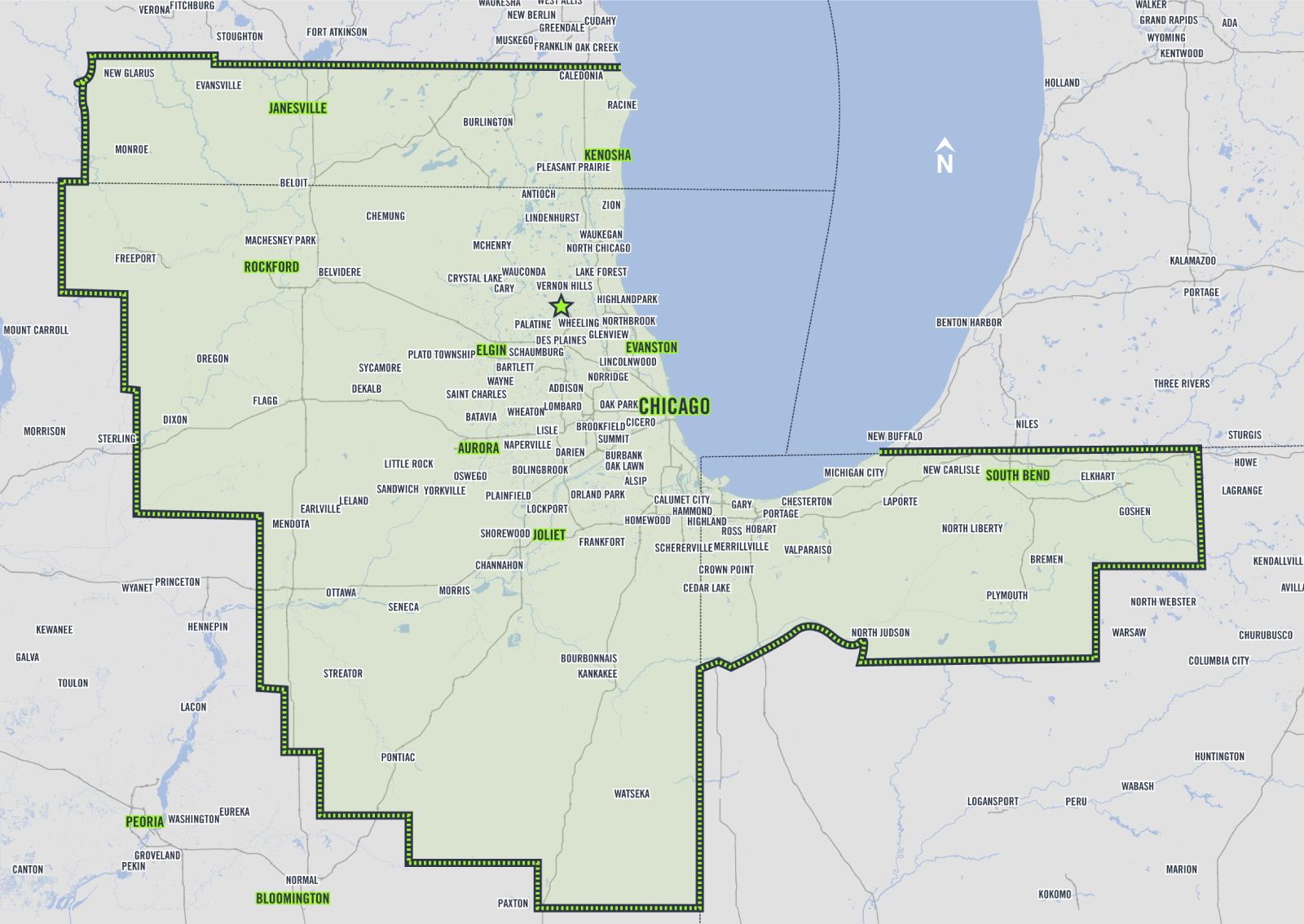 ThermFlo service map